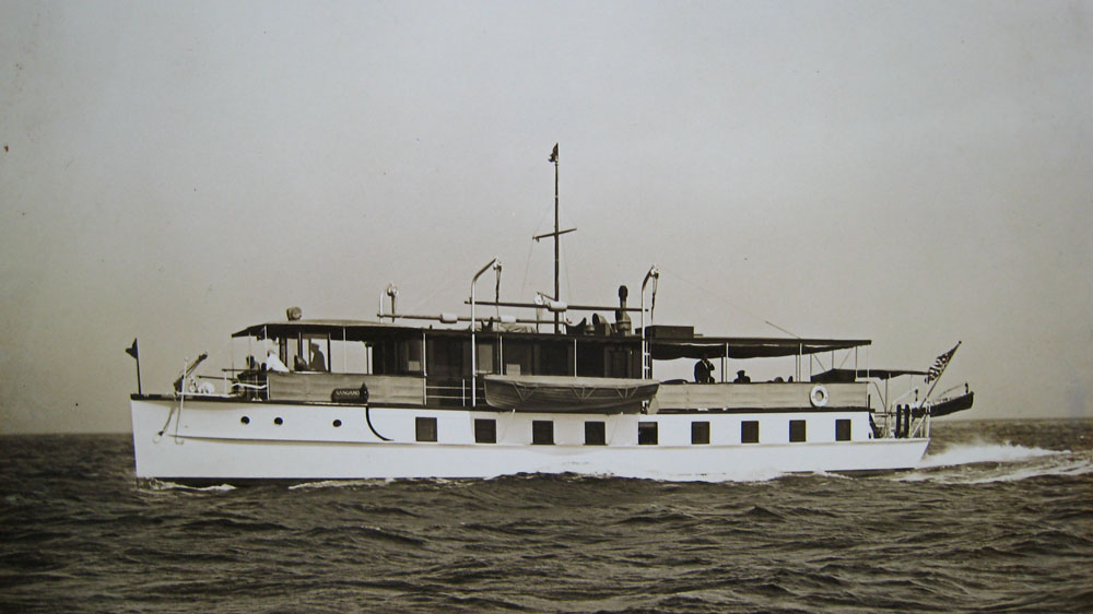 Old Photo of Boat